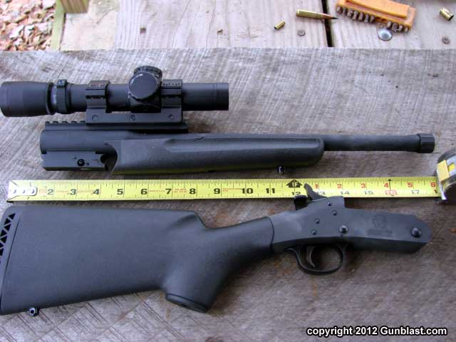 Lightweight, Compact Single-Shot 300 Blackout Rifle from Advanced