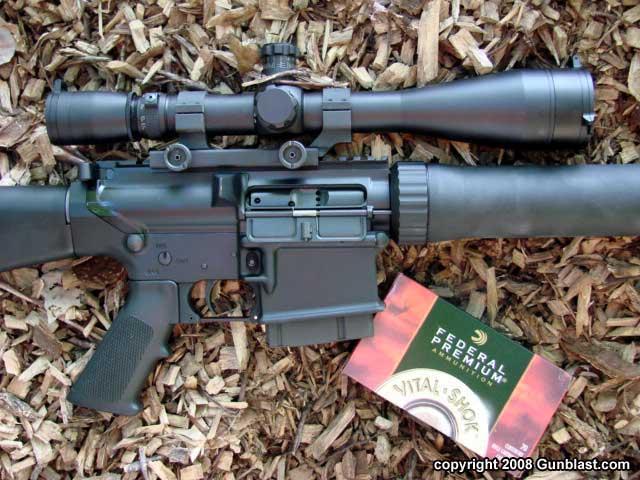 ArmaLite AR-10(T) Match Grade  338 Federal Semi-Auto Rifle