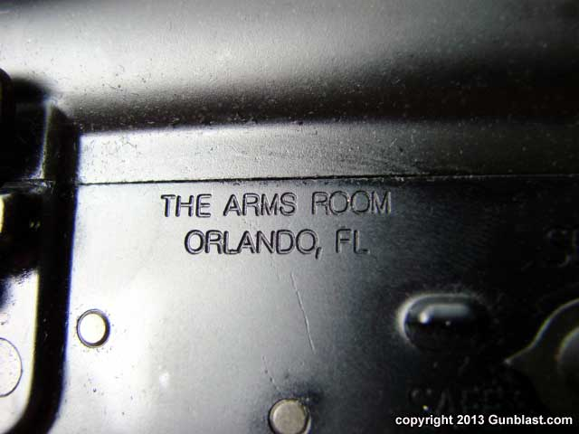 TAR-15 Semi-Automatic 5.56mm Scout Rifle from The Arms Room
