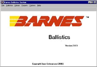 Barnes Ballistics