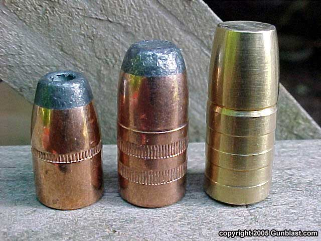 bullet comparison  left to