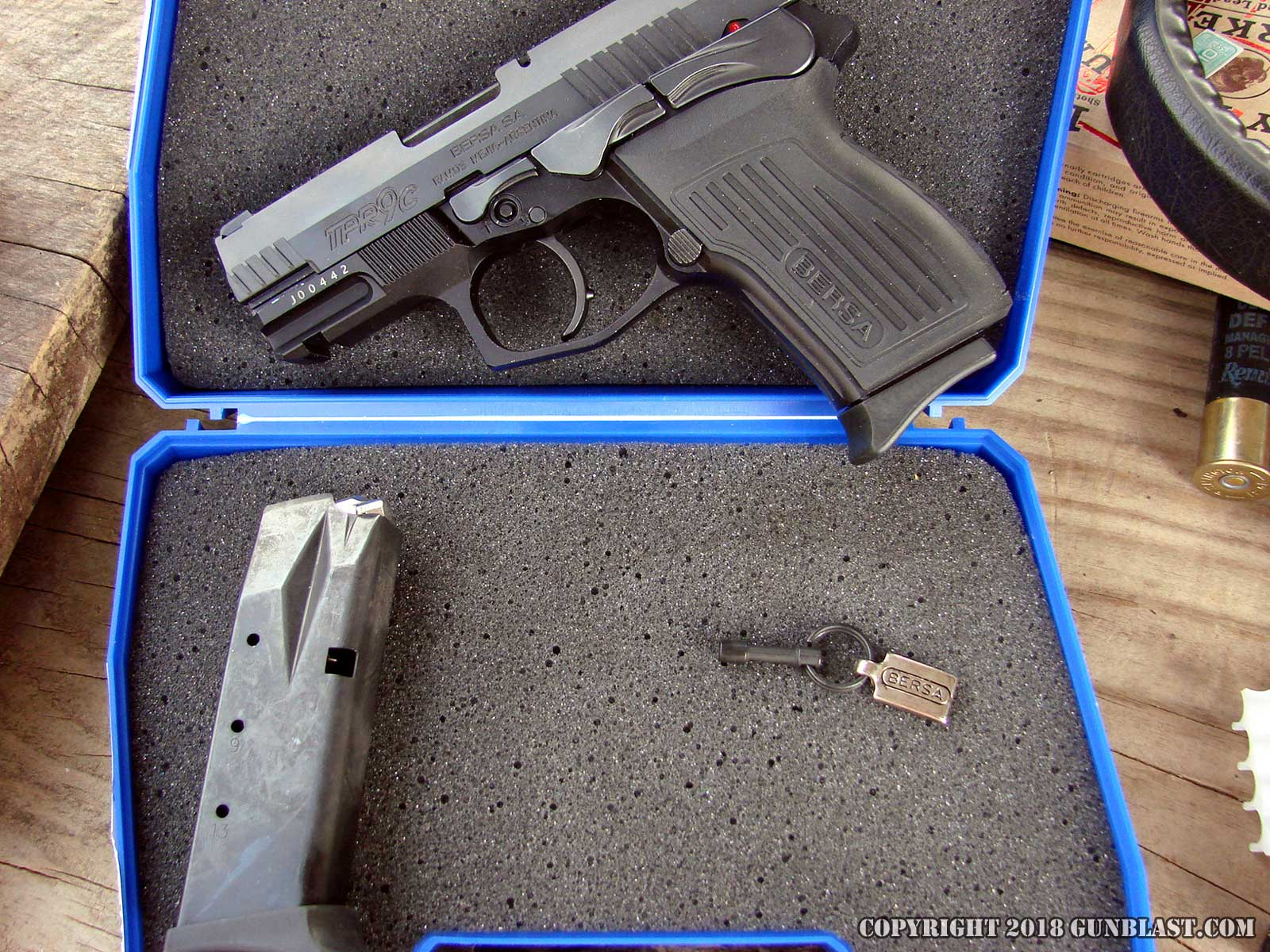Bersa TPR9c 9x19mm Semi-Automatic Pistol