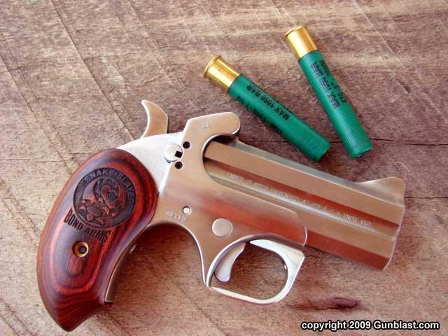 Bond Arms  45 Colt/  410 Shotshell Snake Slayer: The Derringer Perfected