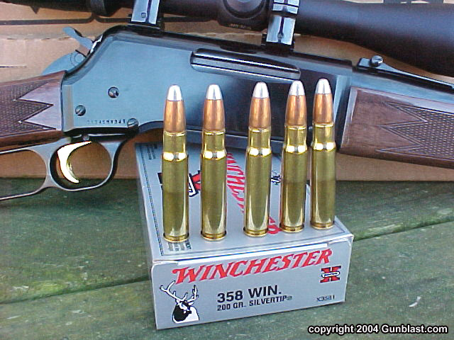 Browning's BLR in .358 Winchester - a great gun and a great cartridge!