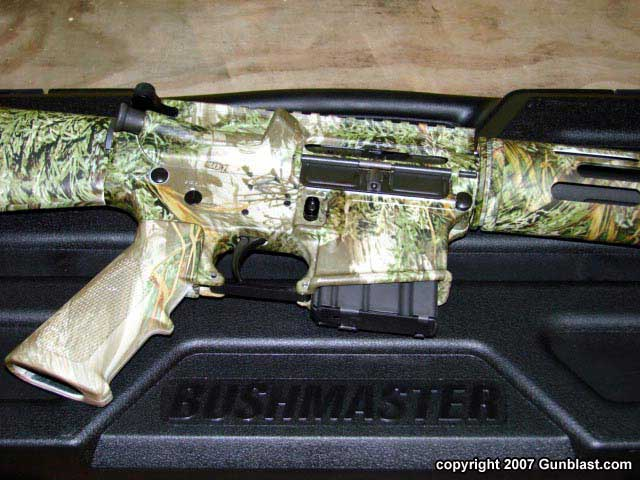 Bushmaster's New Camo-Finished Predator AR-15 Semi-Auto Rifle in