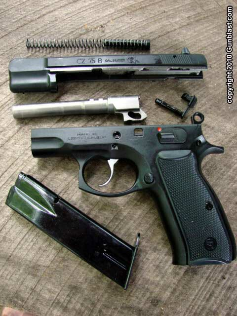 Cz 75 9mm Semi Auto Pistol A Modern Legend | Motorcycle ...