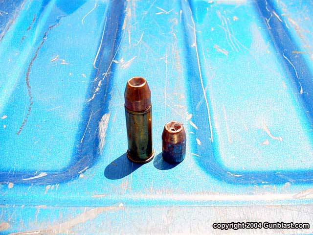 Feeding the Gunblast Bulldog - A Study in Terminal Ballistics
