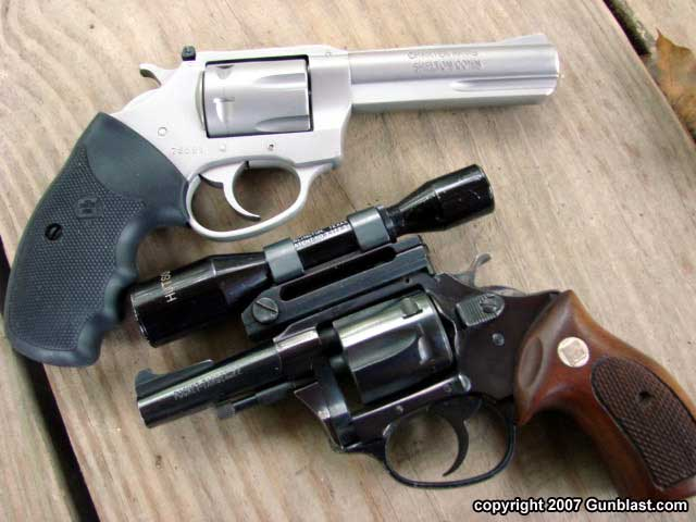 The Charter 2000 Four-Inch Pathfinder  22 Revolver