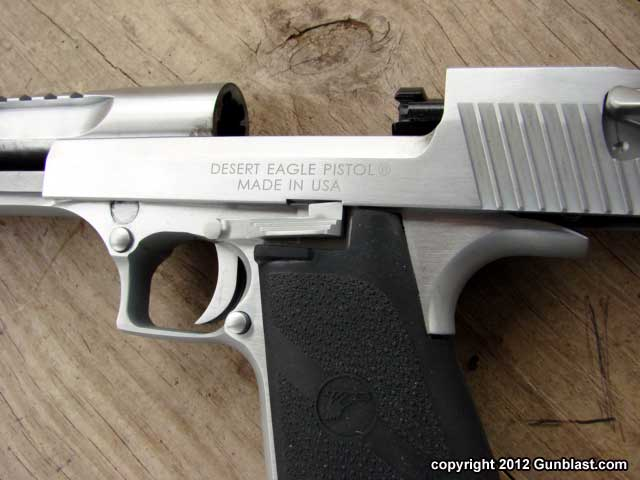 Magnum Research Brushed Chrome 50 Action Express Desert Eagle Semi