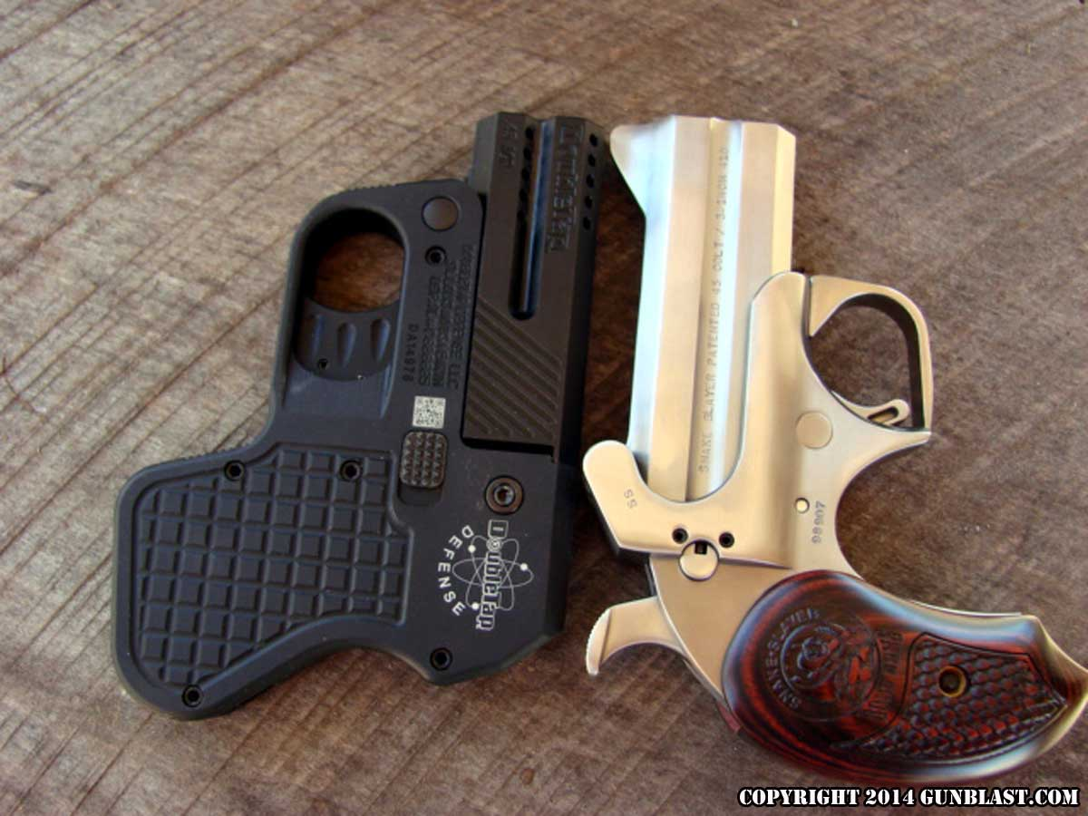 two 9x19mm convertible derringer from doubletap defense