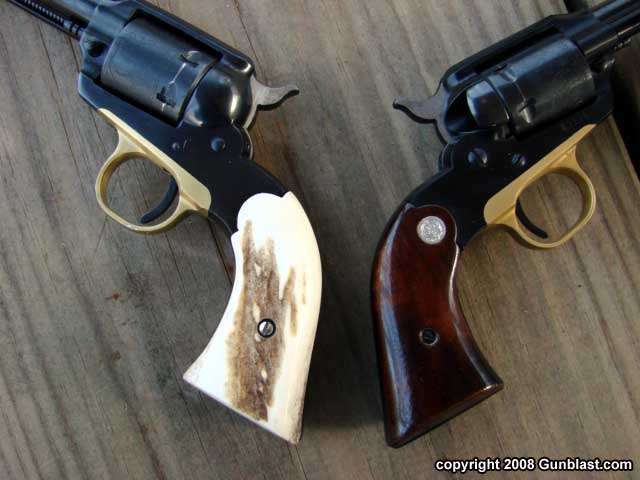 Custom Revolver Grips from Eagle Grips