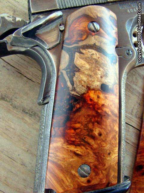 Exotic Handgun Grips By Esmeralda