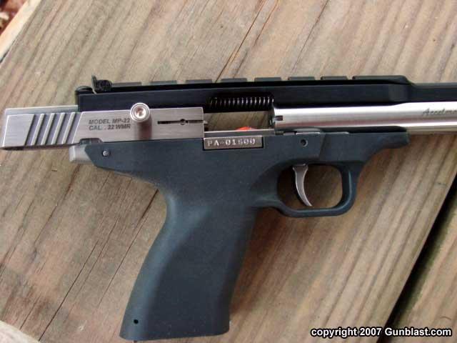 Excel Arms 22 Magnum Model Mp 22 Accelerator Auto Pistol