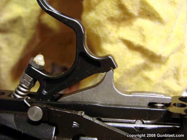Winchester Model 70 Trigger Adjustment Diagram