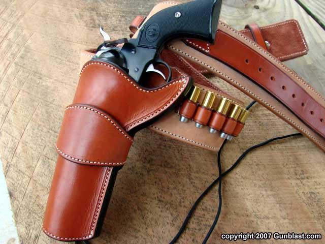 Forkin Custom Classics 44 Special Ruger New Vaquero