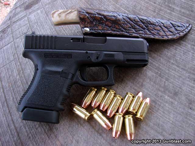 glock 30s compact 45 acp semi automatic pistol