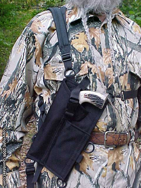 Grizzly Tuff Chest Holster From Simply Rugged Leather