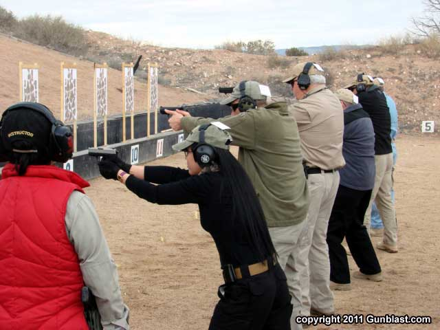 Shooting Compact Pistols at Gunsite Academy