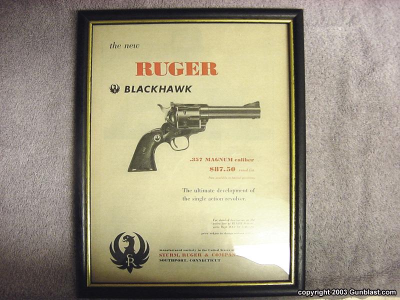 Ruger Blackhawk  357 Cal