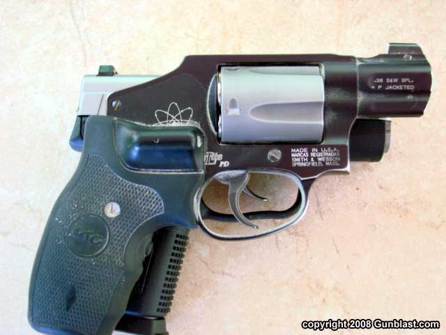Kahr PM45  45 ACP Big Bore Pocket Pistol