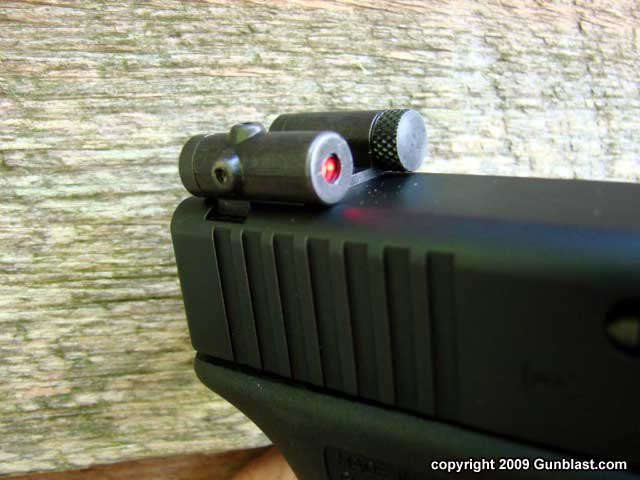 LaserLyte Rear Sight Laser for Glock & Springfield XD Pistols