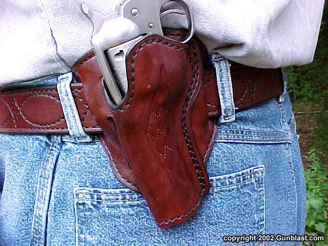 Mernickle Custom Single Action Concealment Holster