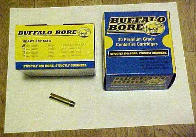 Buffalo Bore's Heavy  357 Magnum