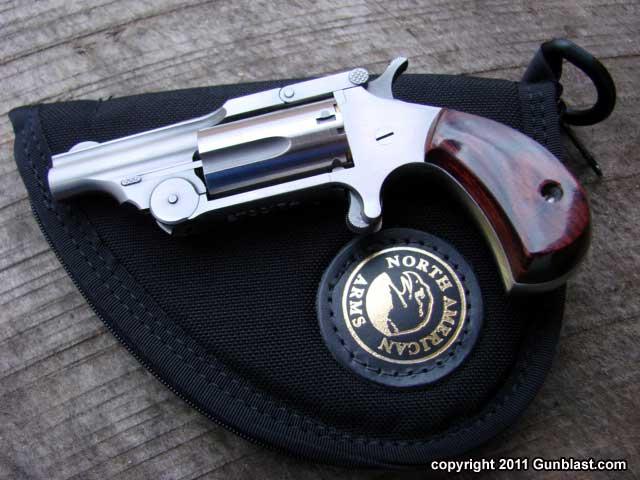 North American Arms 22 Magnum Ranger Break-Top Mini-Revolver