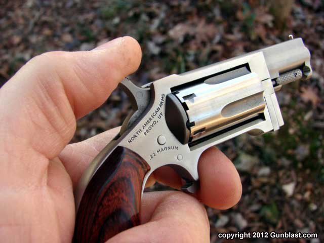 north american arms  u0026quot sidewinder u0026quot  22 magnum   22 long rifle mini revolver with swing