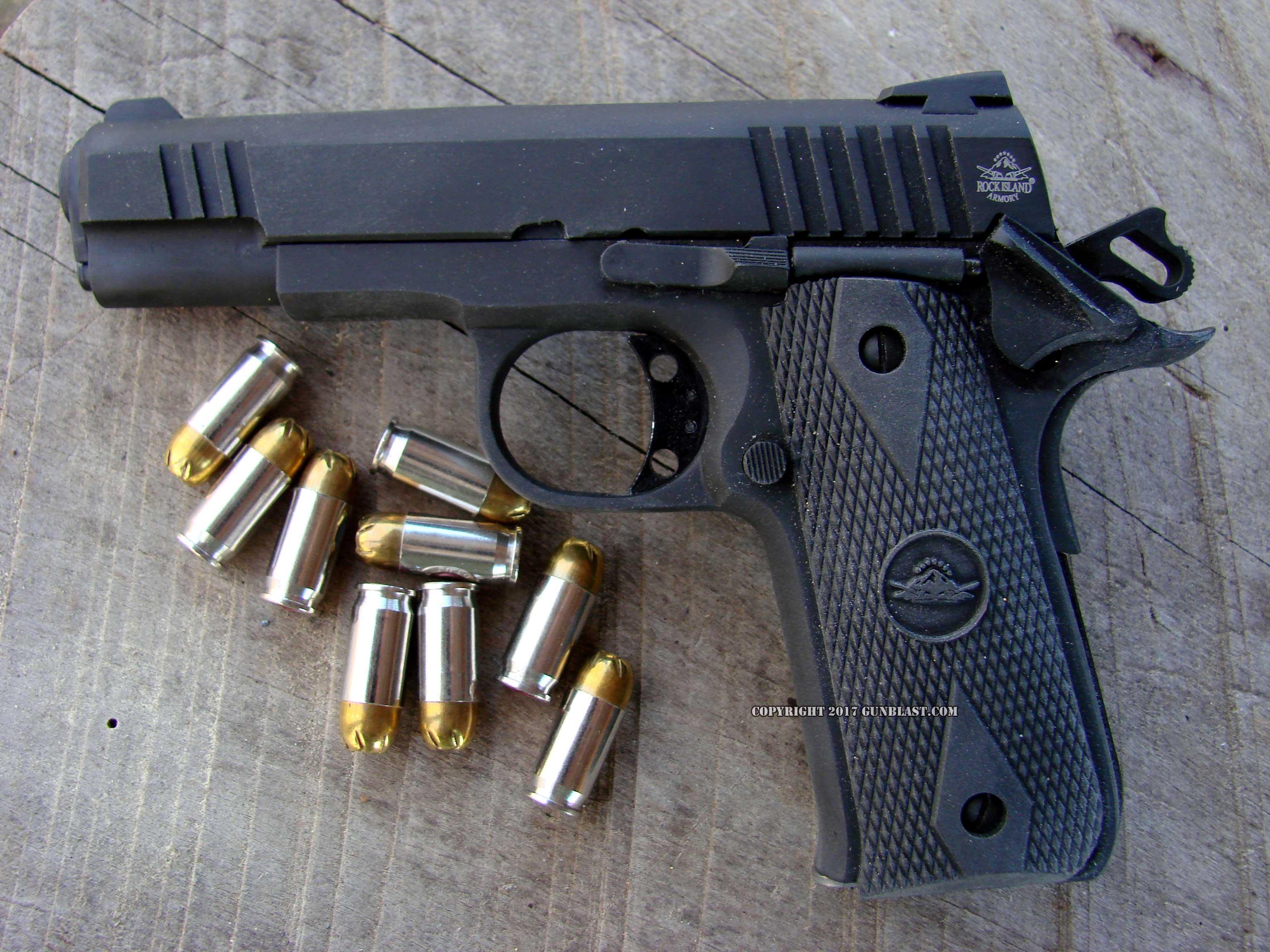 "Rock Island Armory ""Baby Rock"" 380 Semi-Automatic Pistol"