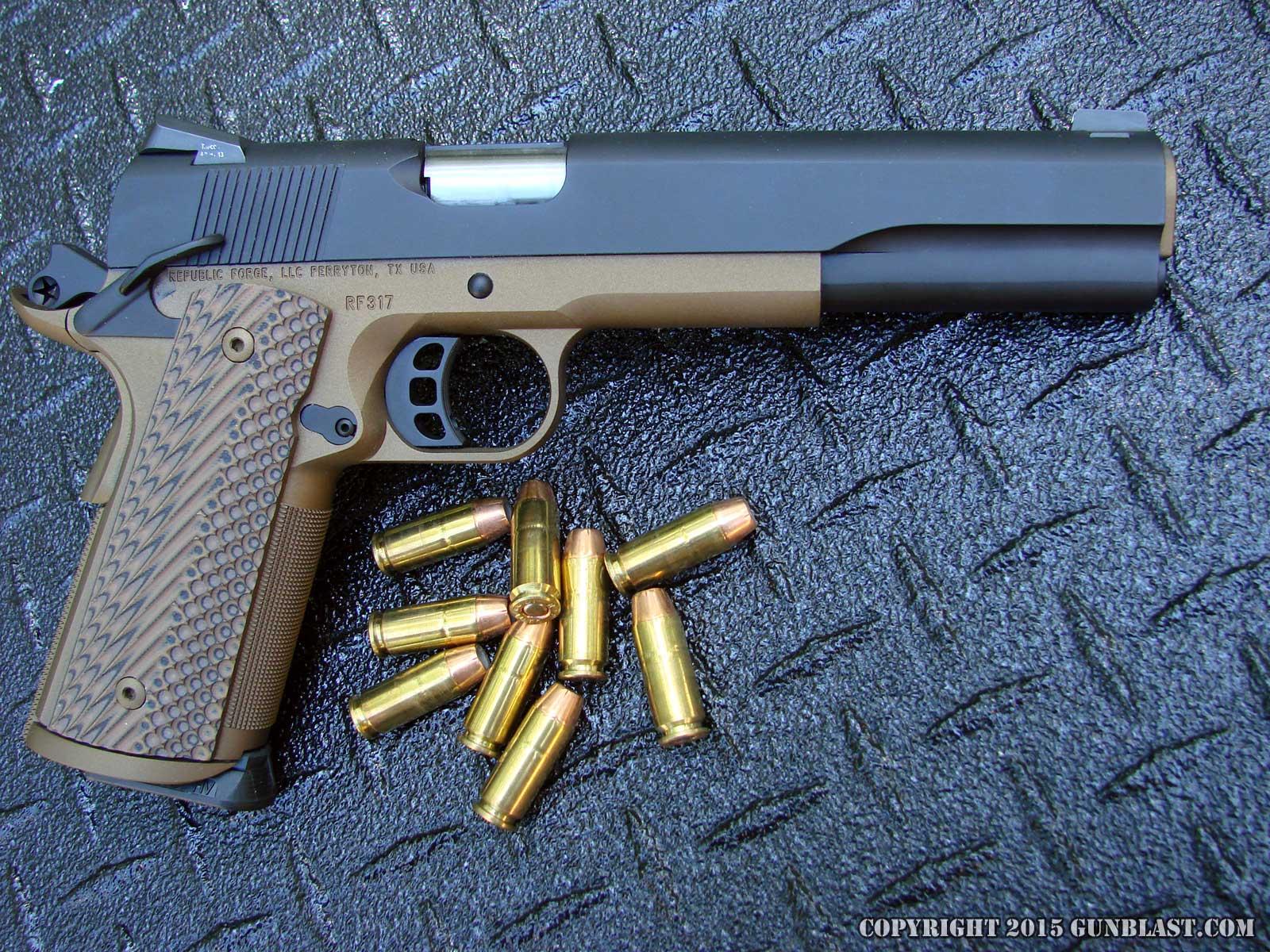 Republic Forge Custom Longslide 10mm 1911 Semi-Automatic Pistol