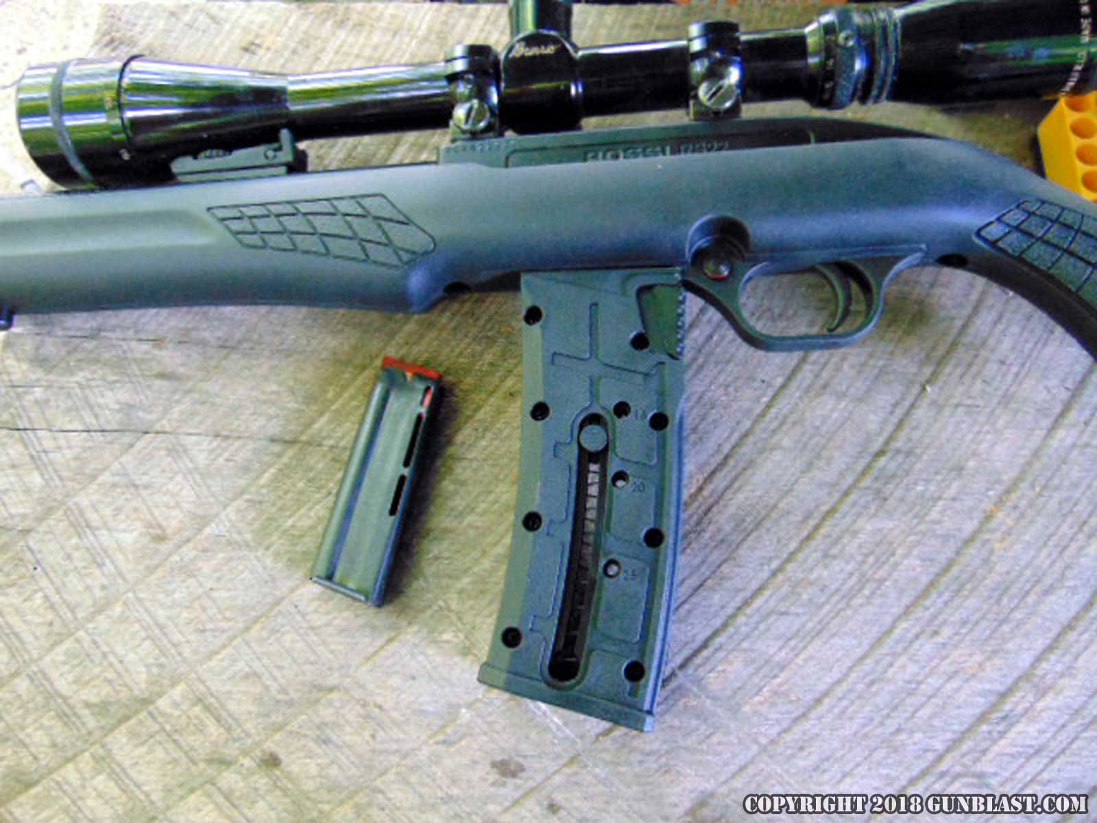 Rossi RS22 Semi-Automatic Rifle Chambered for the 22 Long Rifle