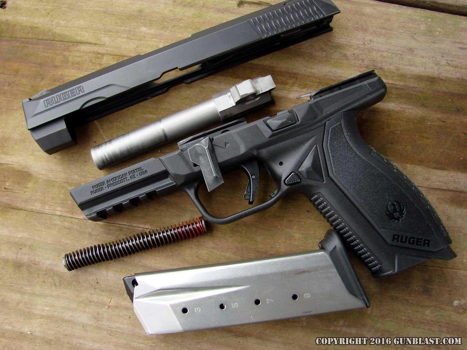Ruger American 45 ACP Semi-Automatic Pistol
