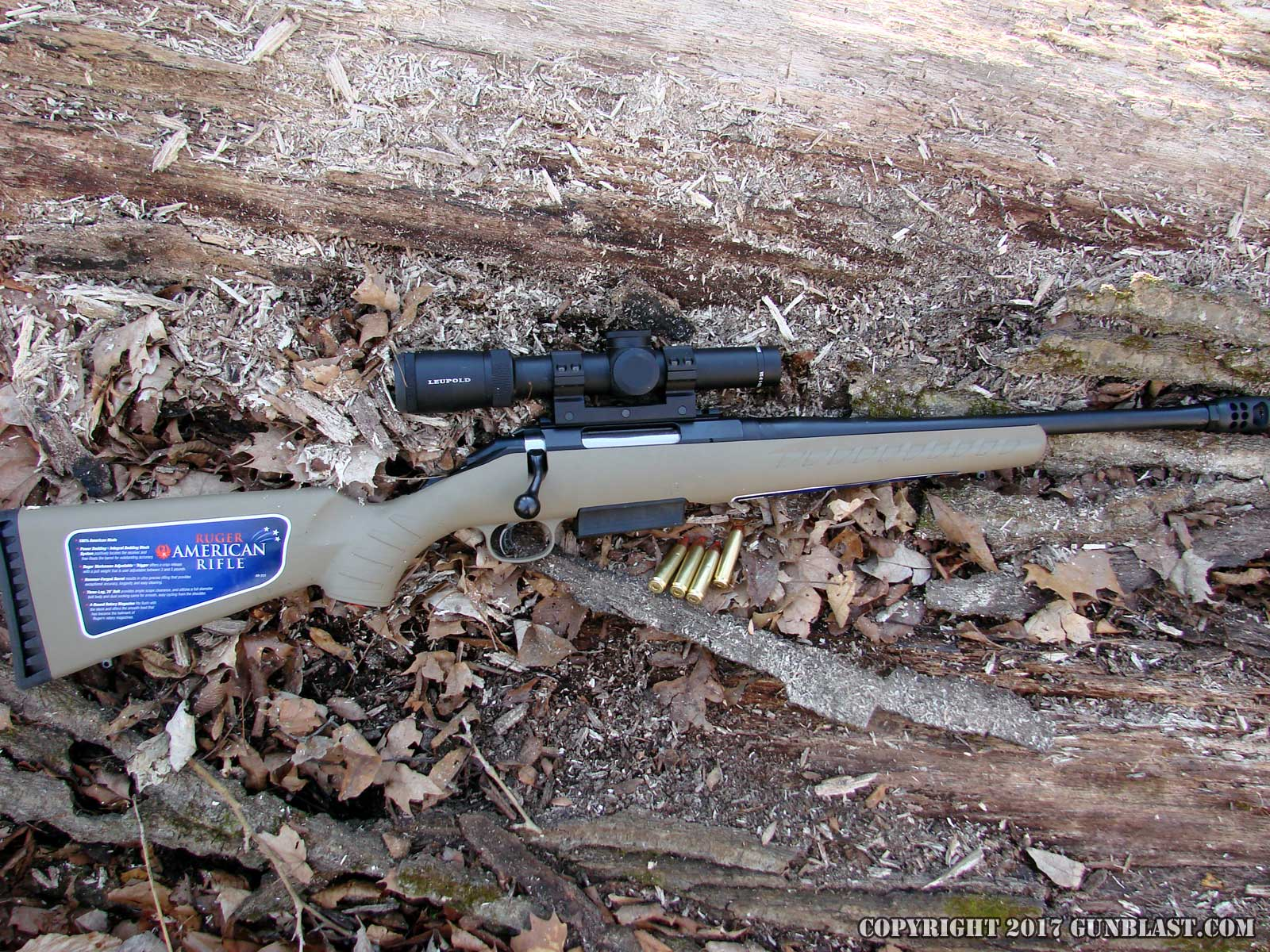 Ruger American Ranch Rifle in 450 Bushmaster Chambering
