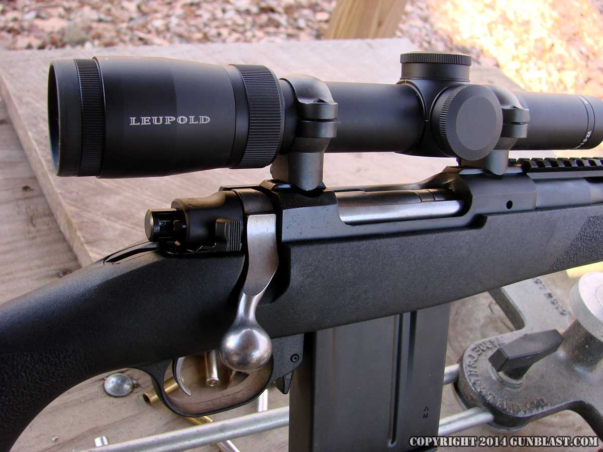Ruger 308 Gunsite Scout Rifle with Polymer Composite Stock