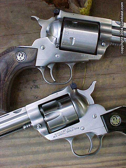 Two New Ruger Hunter Revolvers:  22 and  45 Colt