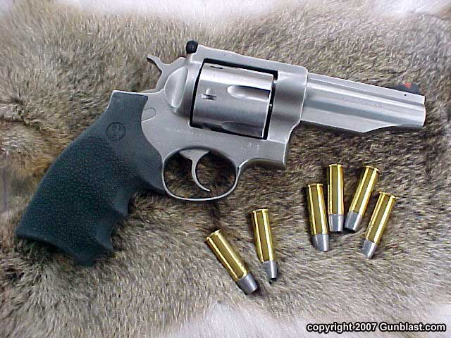 Ruger Four-Inch  44 Magnum Stainless Redhawk