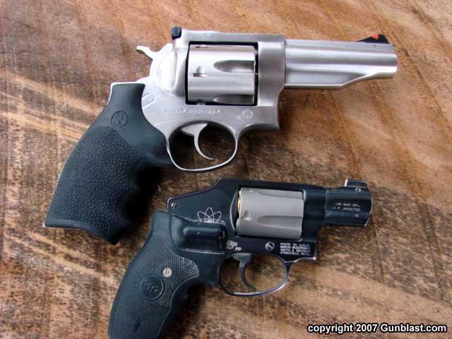 Ruger Four-Inch  45 Colt Redhawk Revolver