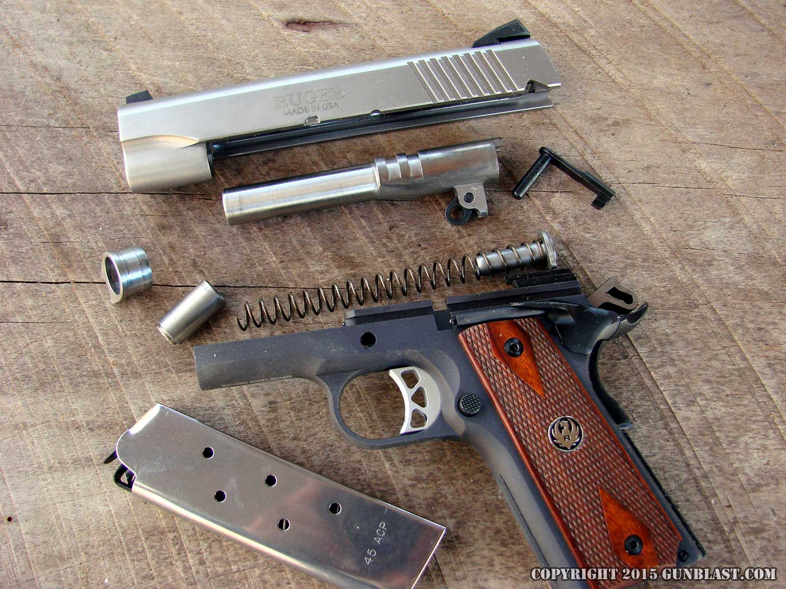 Ruger Lightweight Sr1911cmd A 45 Acp Semi Automatic Pistol Diagram Http Wwwbevfitchettus Springfield1911a1pistols Exploded