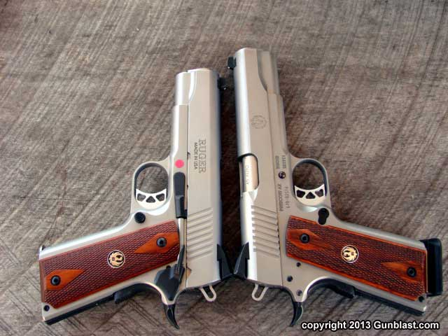 Ruger SR1911CMD 45 ACP Stainless Semi-Automatic Pistol