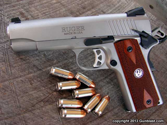 Ruger Sr1911cmd 45 Acp Stainless Semi Automatic Pistol