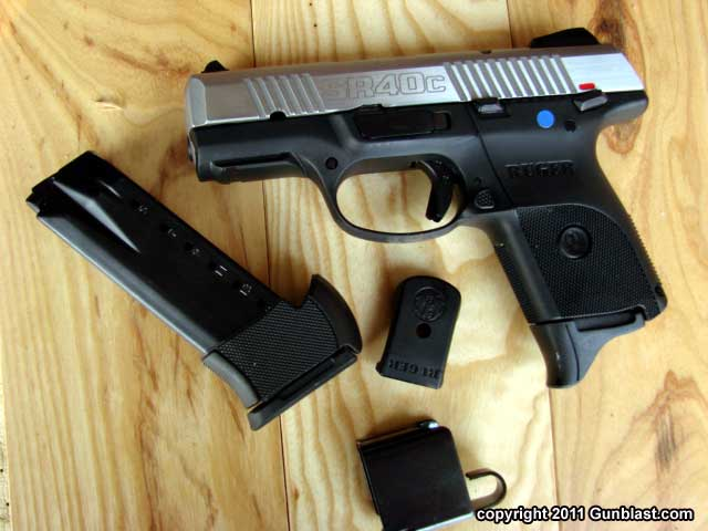 Ruger SR40c Compact 40 Caliber Semi-Automatic Pistol