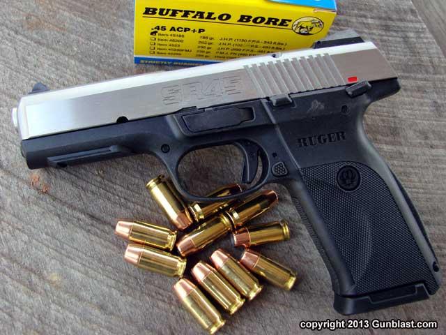Ruger SR45 Semi-Automatic Striker-Fired 45 ACP Pistol