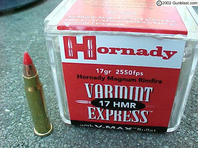 17 HMR 22 Mag Ballistics