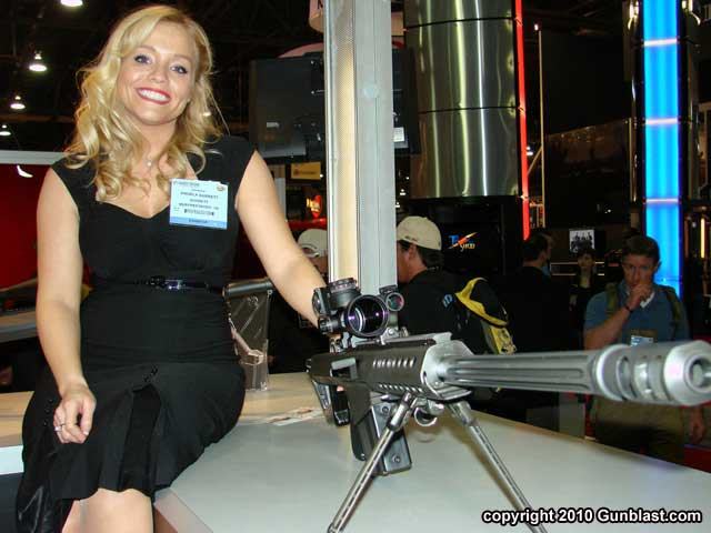 shot show 2010 booth babes