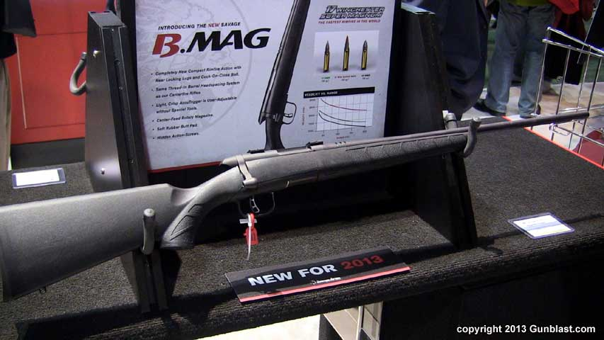 Savage 17 Winchester Super Mag Rifle