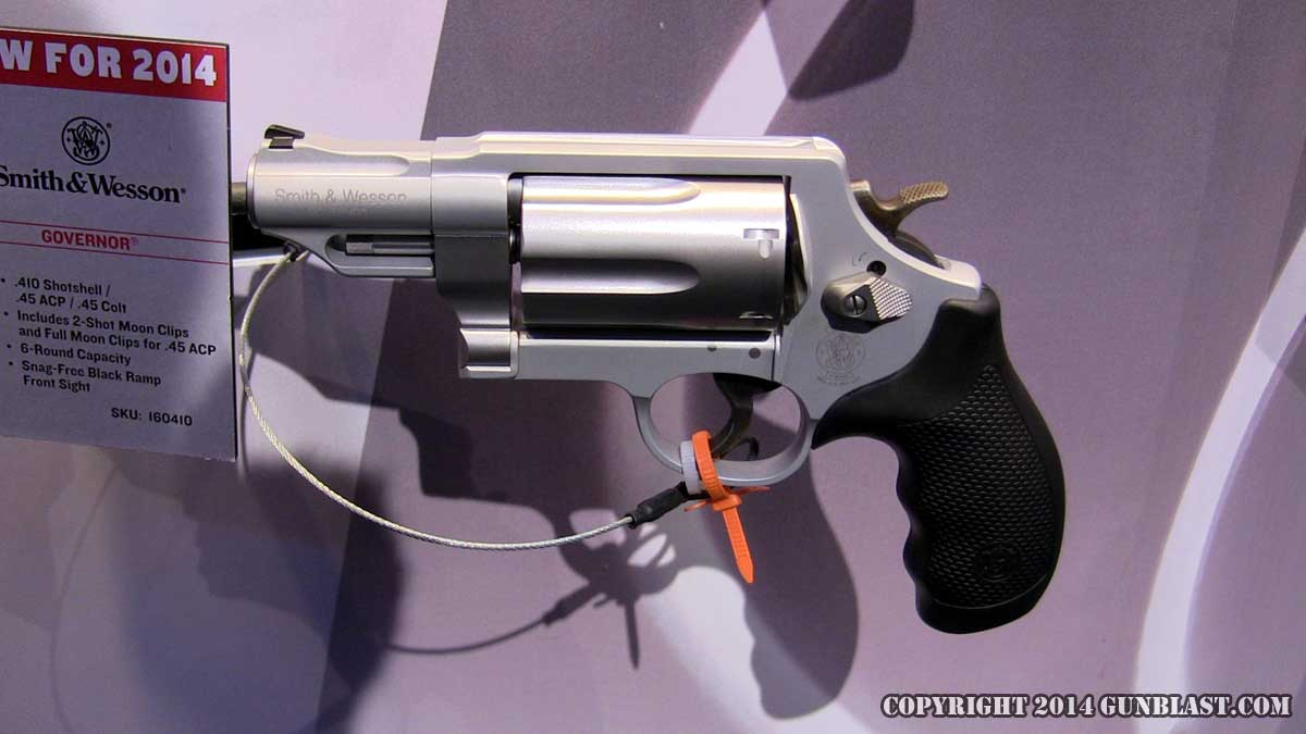 Smith & Wesson Governor in matte silver finish is new for 2014.