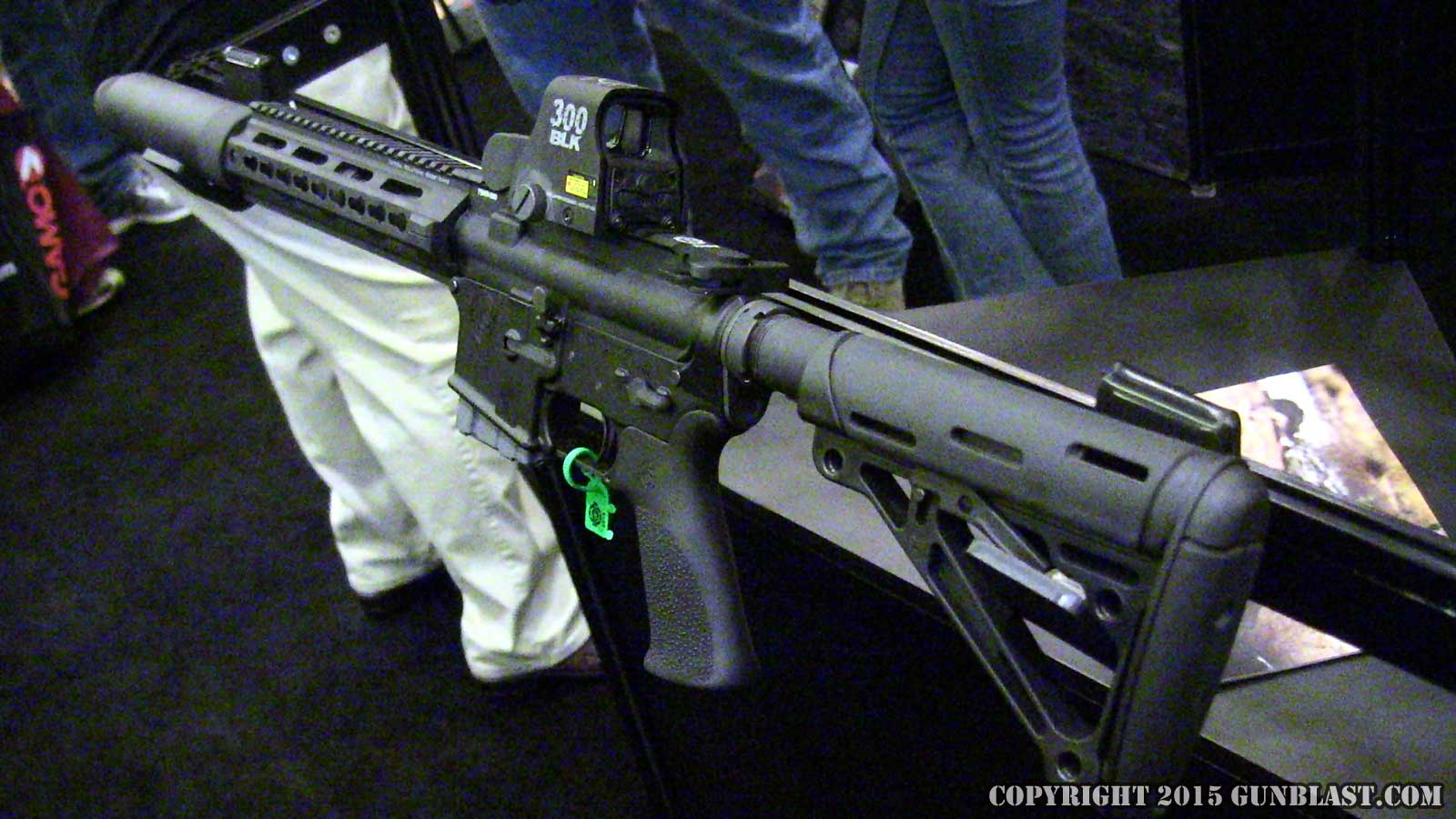 Tactical solutions 300 blackout sbx carbine