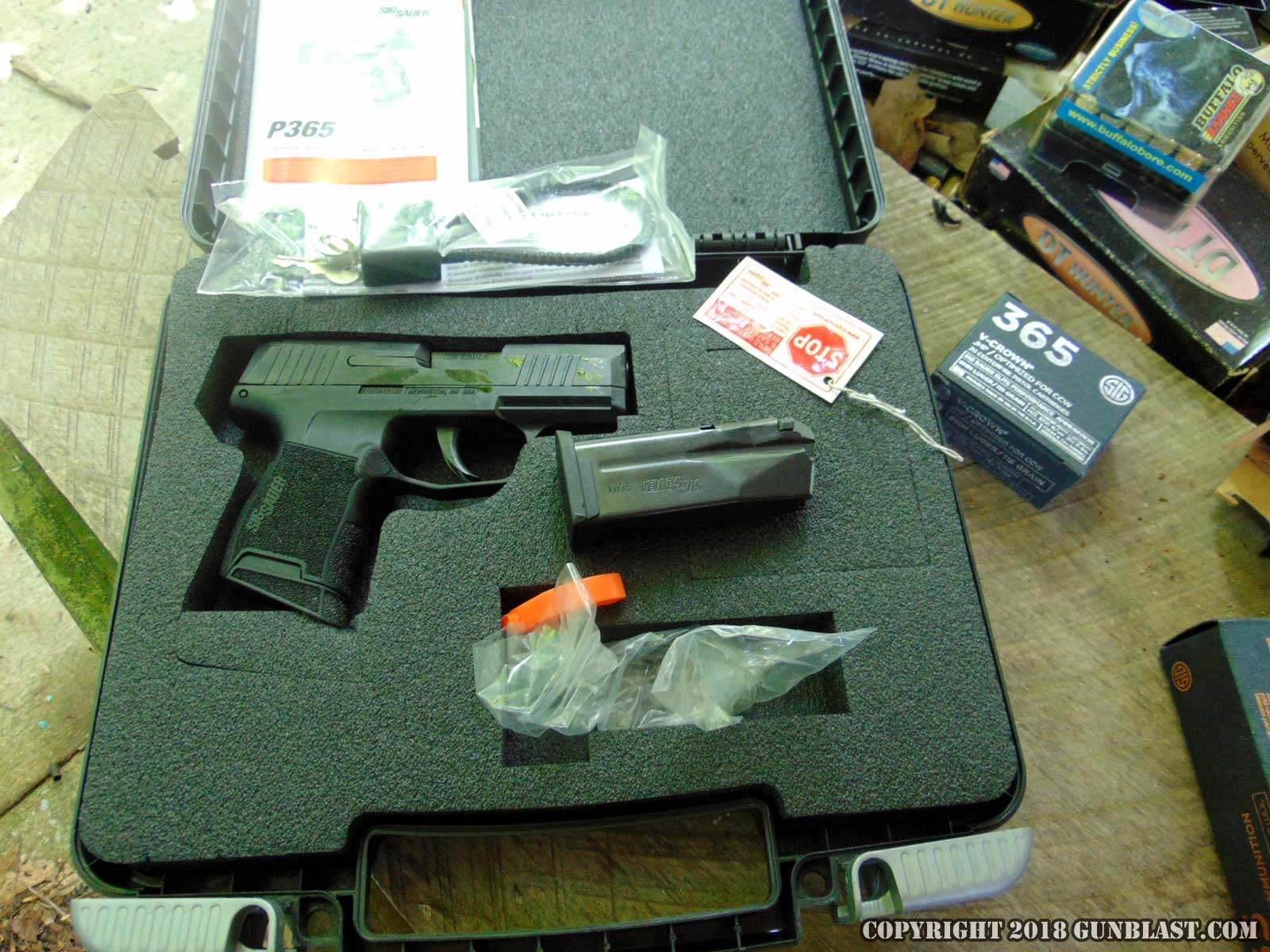 Sig Sauer P365 Sub-Compact 9x19mm Semi-Automatic Pistol