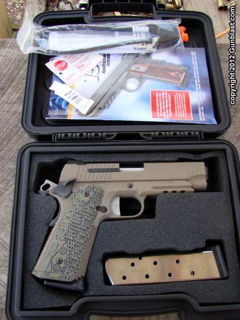 Sig Carry Scorpion 1911 45 ACP Semi-Automatic Pistol